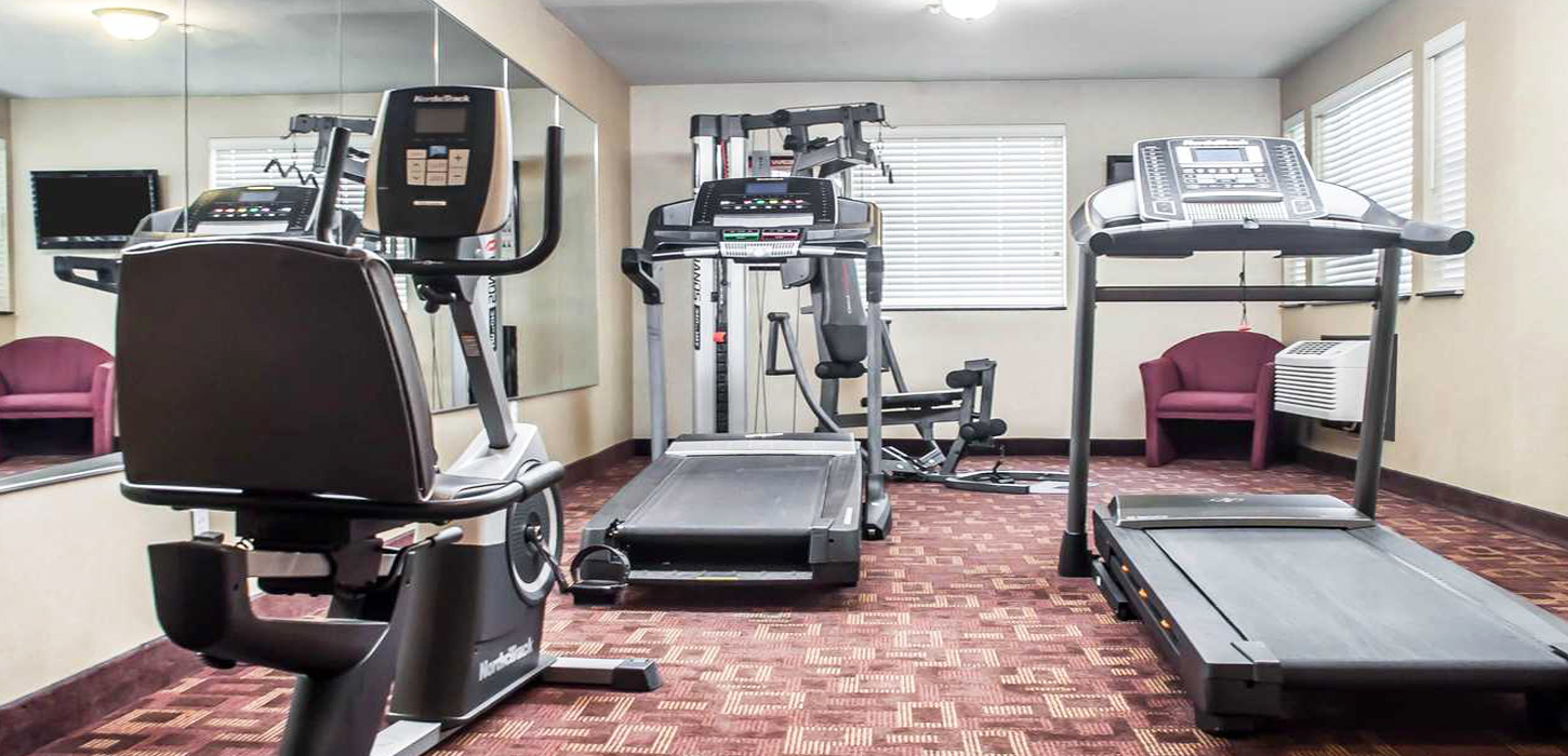 Stay Fit during your stay with us